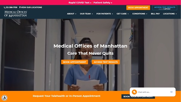 استفاده از ویدیوهای پزشکی در طراحی سایت پزشکی همراه با طراحی سایت دعوت به نوبت دهی آنلاین بیماران مطب
